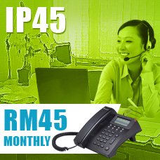 IPTelecom Single Line IP45